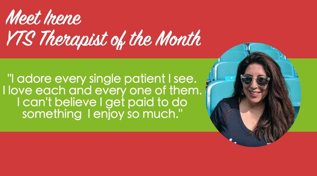 Meet our January Therapist of the Month