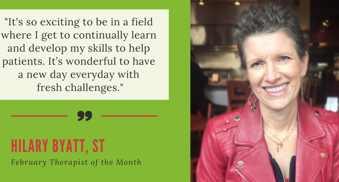 Meet Our February Texas Therapist of the Month