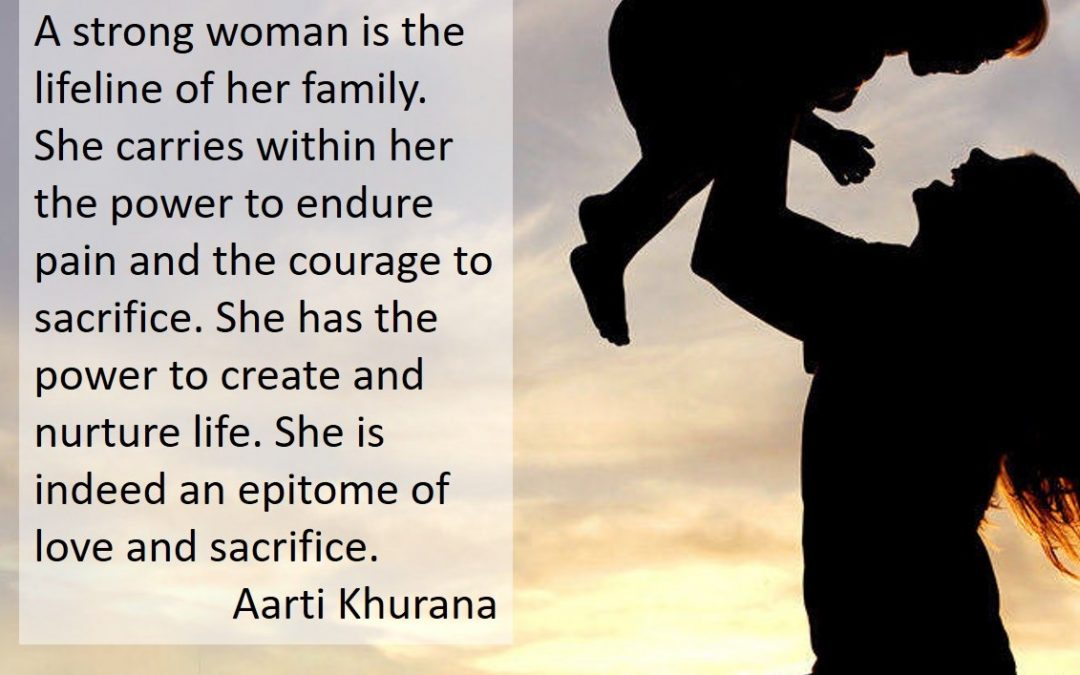 Strong Women: The Lifeline of Their Family